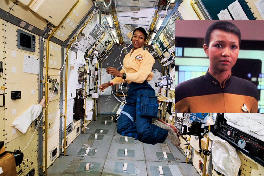Mae Jemison no Espaço e na TNG irá moderar o painel na NYCC