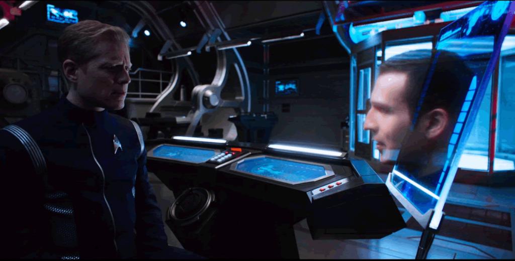 Stamets Conversa com Straal em Holograma Estranho