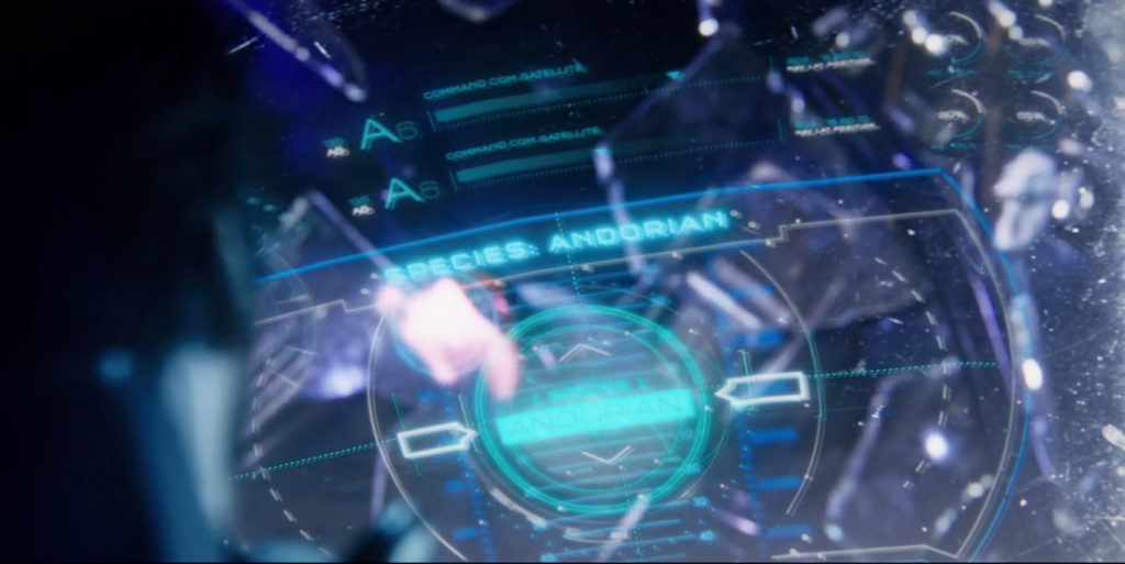 Discovery - Despite Yourself - S01E10 - Andoriano encontrado nos destroços da nave klingon