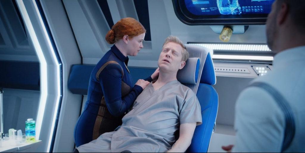 Discovery - Despite Yourself - S01E10 - Stamets em estado catatônico na enfermaria