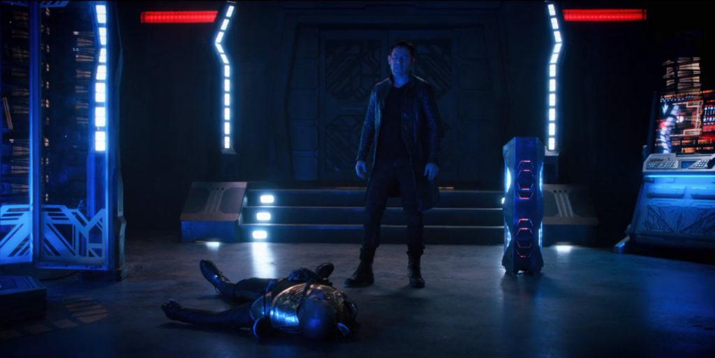 Star Trek Discovery S01E12 Vaulting Ambition - Lorca Foge da câmara de agonia