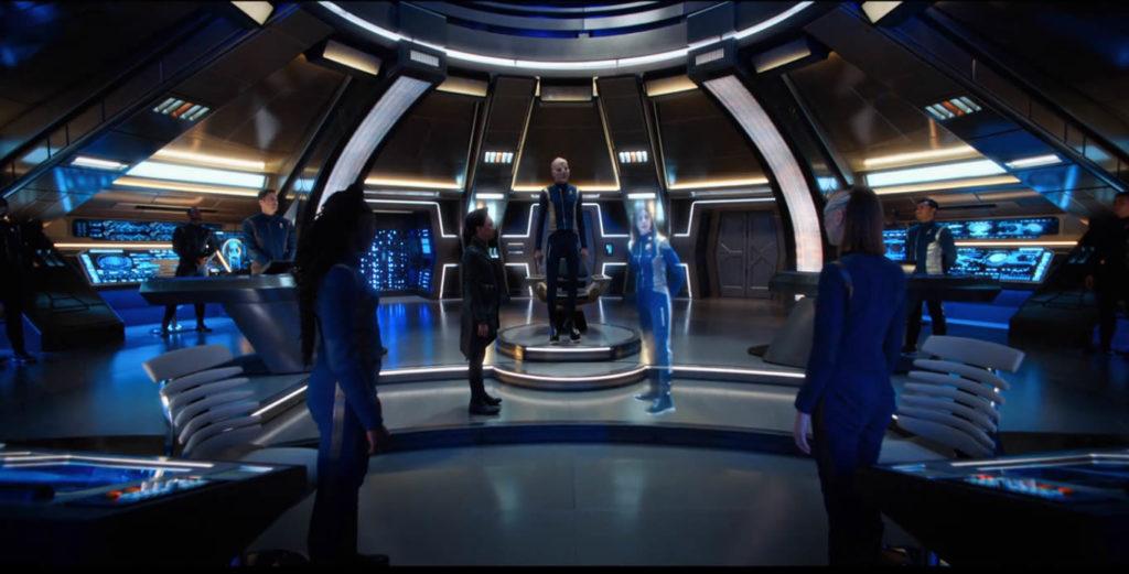 Will You Take My Hand S01E15 - Tripulação da Discovery enfrenta a almirante Corwell