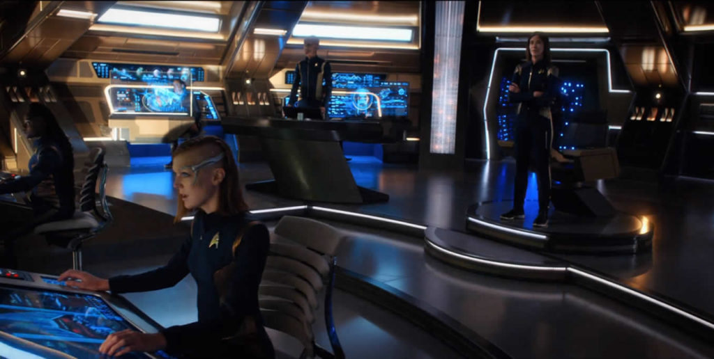 Star Trek Discovery S01E14 - The War Without, The War Within - Ponte durante a terraformação